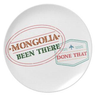Prato Mongolia feito lá isso