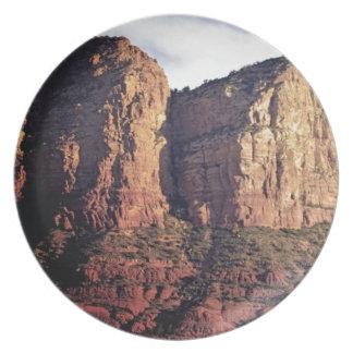 Prato monumento agradável da rocha