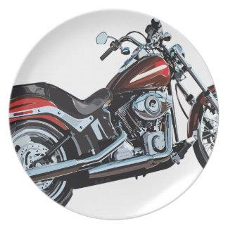 Prato Motociclista da bicicleta da motocicleta