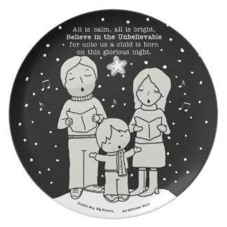 Prato Natal Caroling