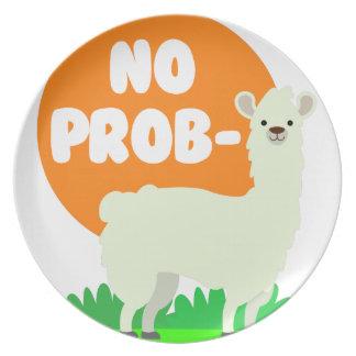 Prato Nenhum Prob-Lama - nenhum lama do problema -