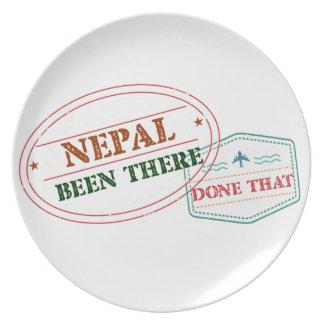 Prato Nepal feito lá isso