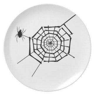 Prato ninho da aranha