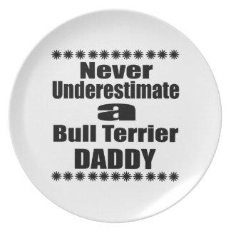 Prato Nunca subestime o pai de bull terrier