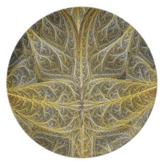 Prato O Croton sae da placa da melamina