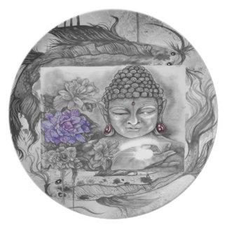 Prato O desejo de Buddha