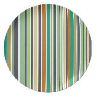Prato O design alinha o bambu