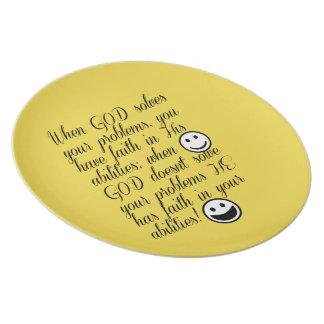 Prato O deus resolve seu problema