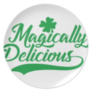 Prato O dia de St Patrick màgica delicioso