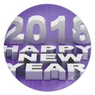 Prato O feliz ano novo 2018