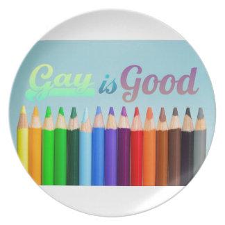 Prato O gay é bom design