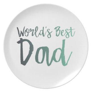 Prato O melhor pai do mundo