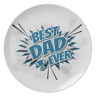 Prato O melhor pai nunca
