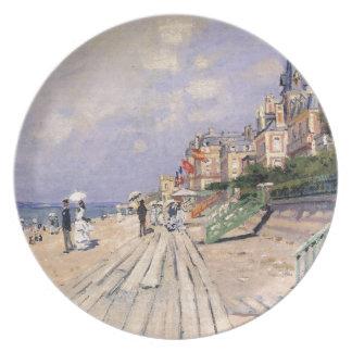 Prato O passeio à beira mar em Trouville Claude Monet