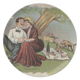 Prato O piquenique do casal