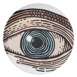 Prato Olho do providência (transparente)