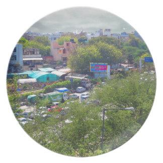 Prato Opiniões do tráfego de Nova Deli India das