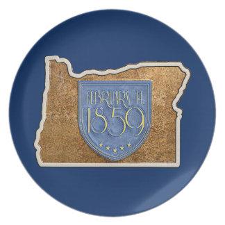 Prato Oregon Est. O 14 de fevereiro 1859