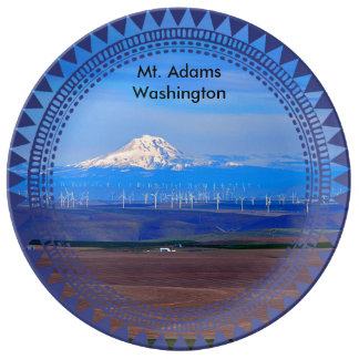 Prato Oregon Windfarms e Mt. Adams, Washington