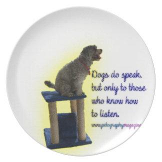 Prato Os cães falam