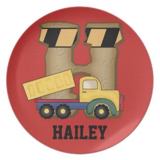 Prato Os presentes personalizados de Hailey