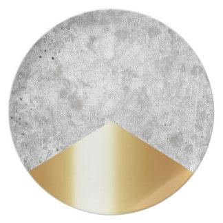 Prato Ouro concreto #372 da seta