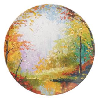 Prato Outono dourado