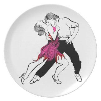 Prato Paixão do tango