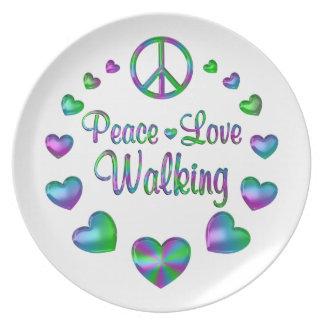 Prato Passeio do amor da paz