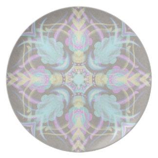Prato Pastel na mandala concreta da rua (variação)