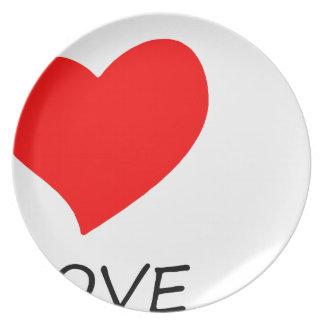 Prato paz love24