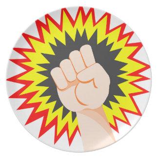 Prato Perfurador da energia do poder do braço da força