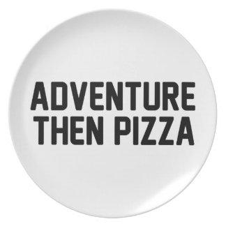 Prato Pizza da aventura então