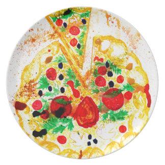 Prato Pizza saboroso
