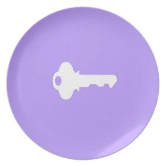 Prato Placa chave