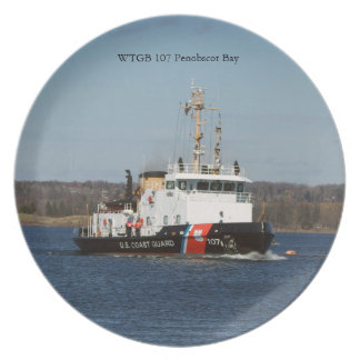 Prato Placa da baía de WTGB 107 Penobscot