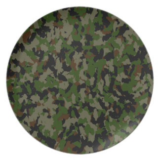 Prato Placa da camuflagem