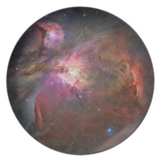 Prato Placa da melamina da nebulosa de Orion