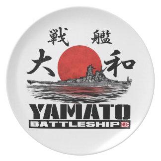 Prato Placa da melamina da placa da melamina de Yamato