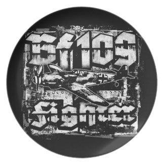Prato Placa da melamina da placa de FB 109