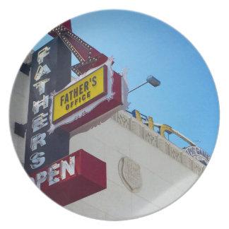 Prato Placa da melamina do sinal do escritório do pai