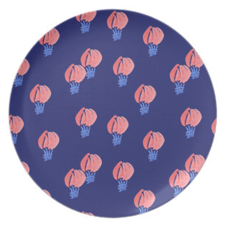 Prato Placa da melamina dos balões de ar