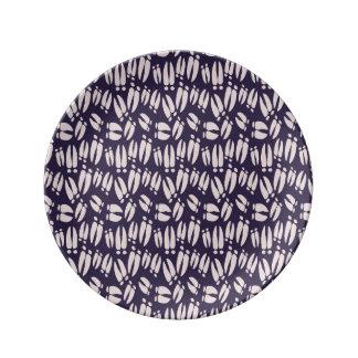 Prato placa da porcelana dos cascos dos cervos
