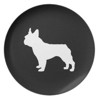 Prato Placa de Boston Terrier