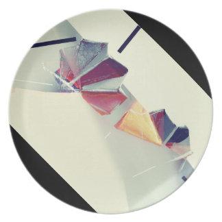 Prato Placa de Origami