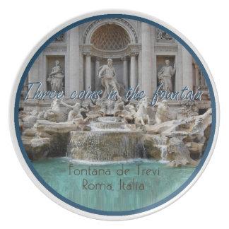 Prato Placa de ROMA Italia