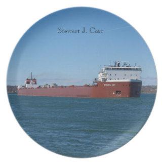 Prato Placa de Stewart J. Cort