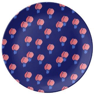 """Prato Placa decorativa 10,75"""" da porcelana dos balões de"""
