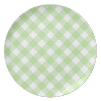 Prato Placa - estrutura para o Zinnia branco Lemony