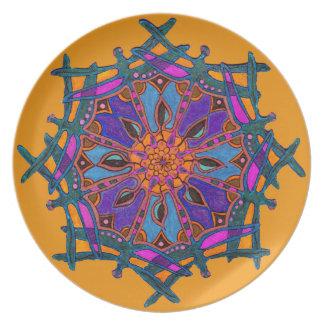 Prato Placa feita sob encomenda da melamina